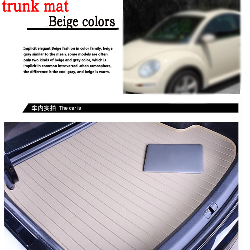 free shipping good car trunk mat for Mitsubishi Lancer Galant ASX Pajero sport V93 3D carstyling leather carpet cargo liner custom fit car floor mats for mitsubishi lancer asx pajero sport v93 3d car styling all weather carpet floor liner ry204