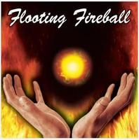 Free Shipping IFloating Fireball Gimmick Magic Trick Stage Closeup Magic Tricks Fire Props Comedy