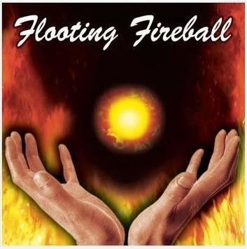 Free shipping! Floating Fireball (Gimmick) - Magic Trick,stage/closeup,magic tricks,fire,props,comedy