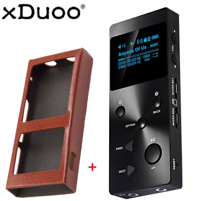 US $110 0 |XDUOO X3 Professional lossless music player hifi digital mp3  support DSD/APE/FLAC/WAVWMA/OGG/MP3 dual SD slot-in HiFi Players from  Consumer