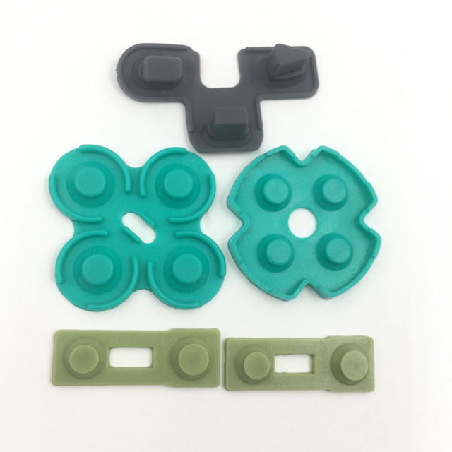 Conductive Rubber Contact Pad Button D-Pad for Sony PS2 Controller 4