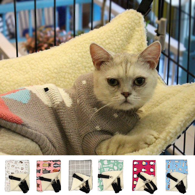 pecute cat hammock kitten hanging hammock bed pad pet cat cage  forter 2017 pecute cat hammock kitten hanging hammock bed pad pet cat cage      rh   aliexpress