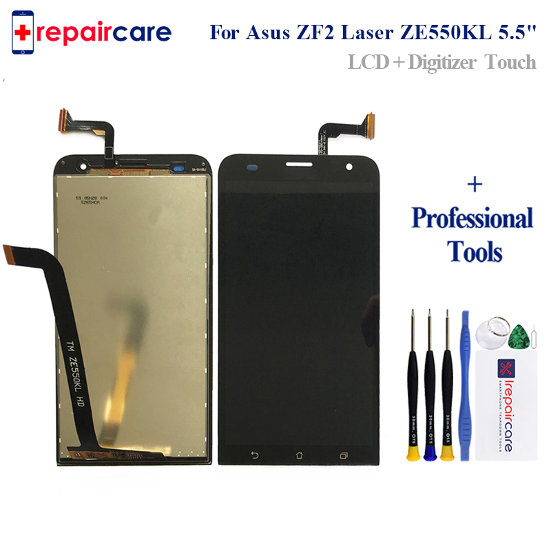 Free Shipping 5.5 inch For Asus Zenfone 2 <font><b>ZE550KL</b></font> <font><b>LCD</b></font> Display + Touch Panel Screen Glass Assembly Replacement Parts image
