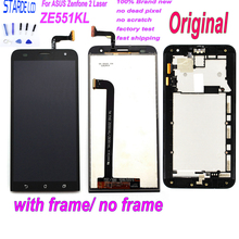 STARDE 5.5'' LCD for Asus ZenFone 2 Laser ZE551KL LCD Display Touch Screen Digitizer Assembly with Frame and Free Tools цена в Москве и Питере