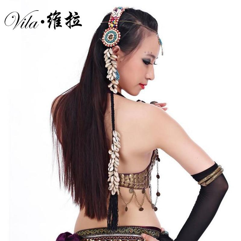 2019 ATS Tribal Belly Dance Accessories Women Headpieces Dance Headbands Bellydance Tribal Gypsy Jewelry Headband