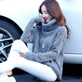 New Year gift woman sweater fashion warm Turtleneck female top easing thickening brief paragraph female turtleneck sweater coat