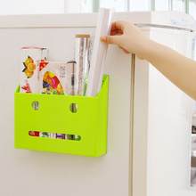 2017 new plastic storage box organizer Wall-mounted paper towel roll holder cabinets household sundries wall storage rack