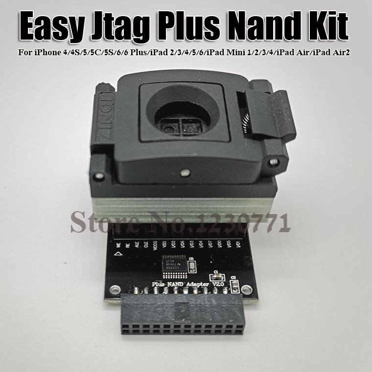 Easy-Jtag Plus Nand Kit socket for iphone socket work with Easy Jtag plus boxEasy-Jtag Plus Nand Kit socket for iphone socket work with Easy Jtag plus box