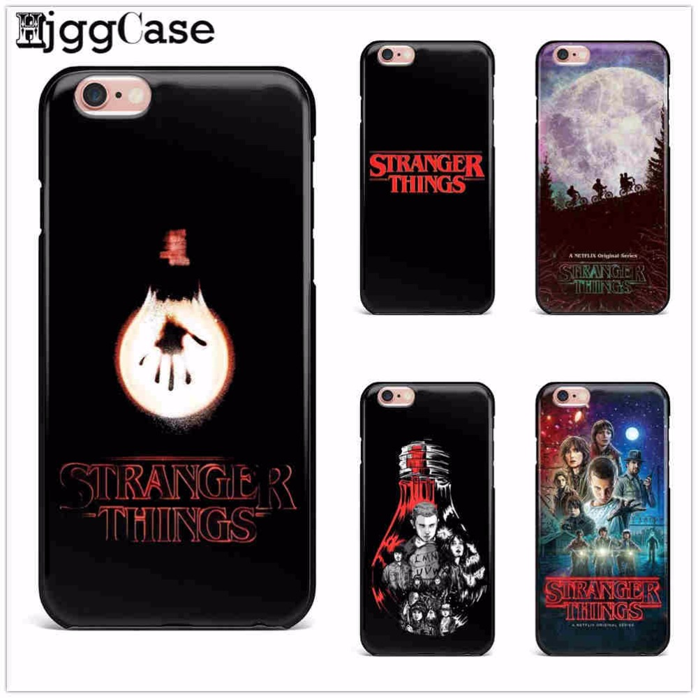 promo code e0e17 be2ba Stranger Things Christmas Lights Case For Iphone X 7 7Plus 6 6S 8 Plus 5 5S  SE Soft Silicone TPU Phone Case Cover Fundas Capa