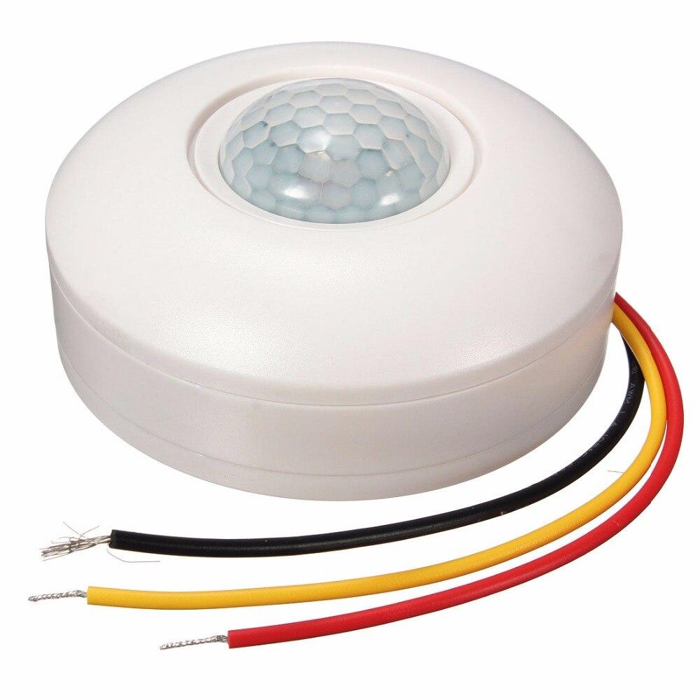 Energy Saving 360 Degree Pir Motion Sensor Detector Light Switch Wiring