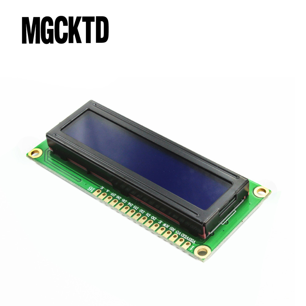10PCS LCD1602 LCD 1602 Blue Screen Character LCD Display Module Blue Blacklight New 16X2,LCD Modules
