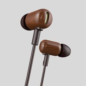Image 2 - Original DZAT DF 10 In Ear Earphone 3.5mm Heavy Bass HIFI earbud DIY Wooden DJ headsets With Microphone