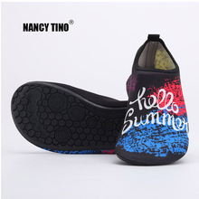 NANCY TINO Men/Women Beach Water Shoes Outdoor Swimming Footwear Sports Sandals Lightweight Slip-on Aqua