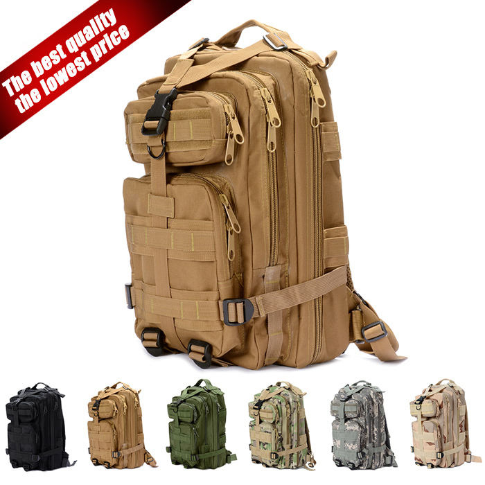 Outdoor Canvas Backpack Vintage Military Tactical Backpacks Schoolbag Hiking Camping Camouflage Backpack Travel Bag outlife new style professional military tactical multifunction shovel outdoor camping survival folding spade tool equipment