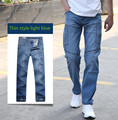 New Fashion  jeans men's trousers skateboard men jeans Straight jean clothes Bottoms long pants 28-44