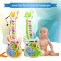 Brinquedo guitarra eletrônica instrumento musical toys precoce da criança para o bebê music play