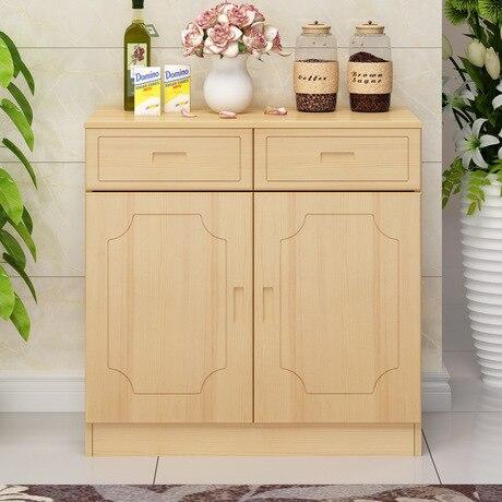 Kitchen Cabinets Kitchen Furniture Home Furniture Solid Wood Side Cabinet Door Base Cabinets Wholesale Hot New 160*80*40cm 2017