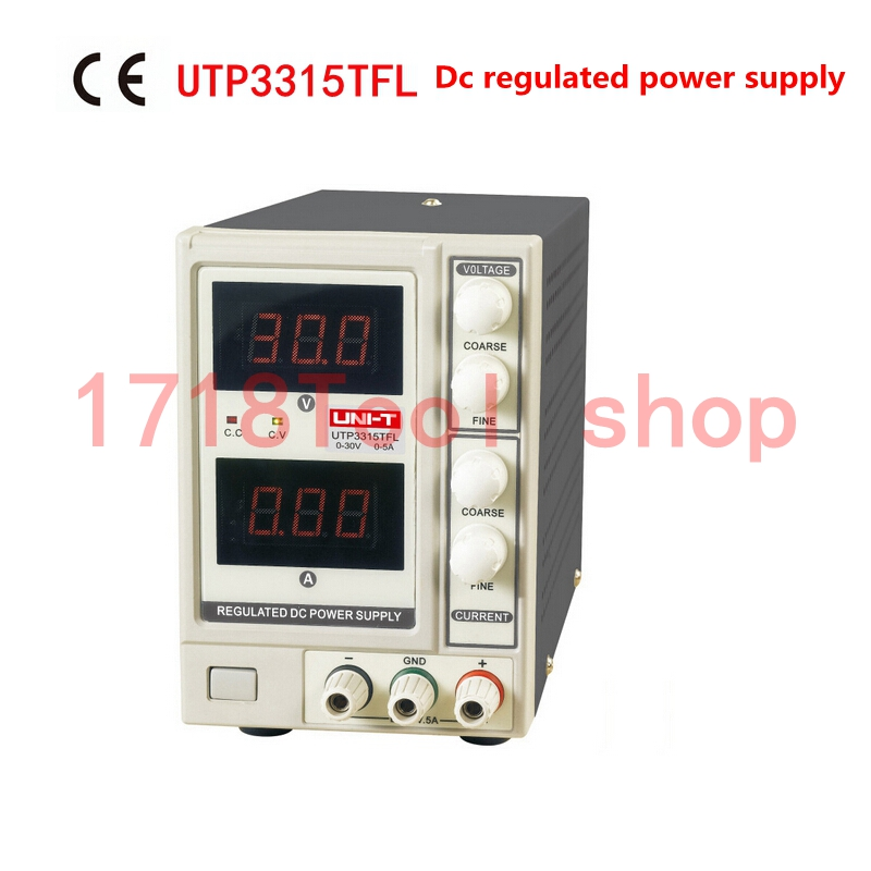 UNI-T UTP3315TFL  Precision Variable Adjustable DC Power Supply Digital Regulated Switching Power Supply For Lab Grade Working dc regulated switching power supply 60v 17a high power digital adjustable dc power supply 1000w four bit display cps 6017