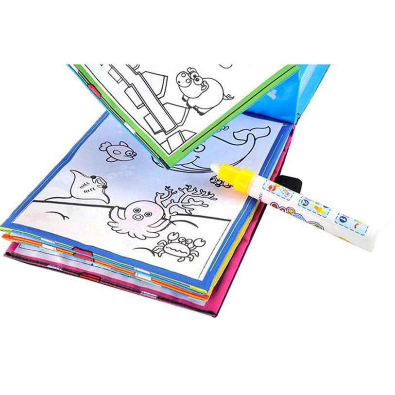 Hot-Magic-Water-Drawing-Book-Coloring-Book-Doodle-Magic-Pen-Animals-Painting-Aug-30-2