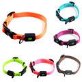 New Adjustable Pure Color Pet Collar Wearproof Nylon Dog Collar Size Adjustable Available for Small / Medium/ Large Dogs BS