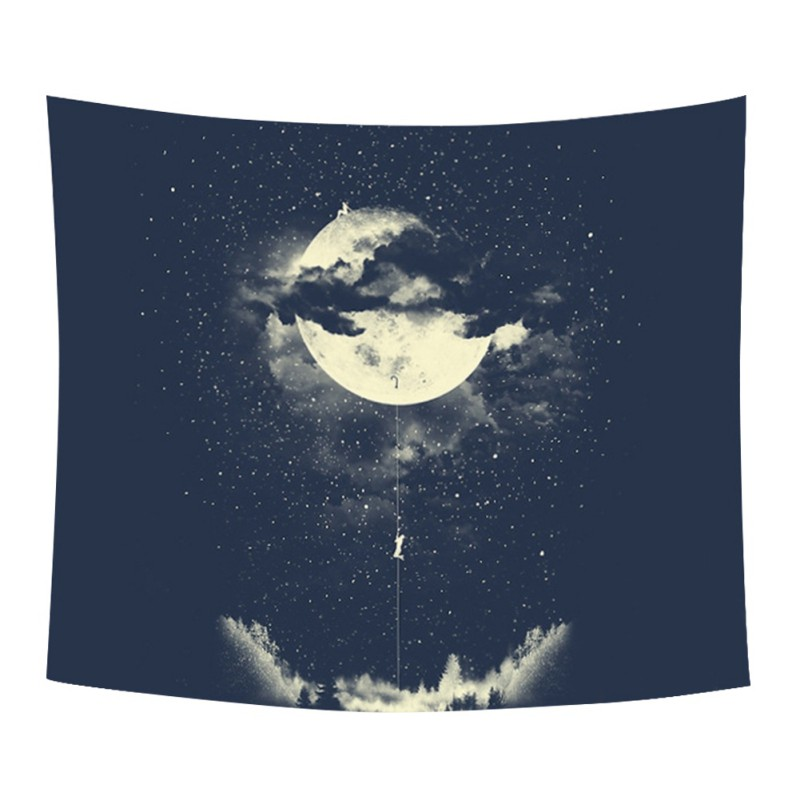 Moon Climber - Climb to the Top Tapestry / Picnic Blanket / Tablecloth + AAEONIX Energy Balancing Kit