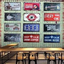 Keep calm drink beer Coffee  license plate Metal Painting Retro Signs Vintage Wall Bar Ktv Home Art Decor 30X15CM B-9054