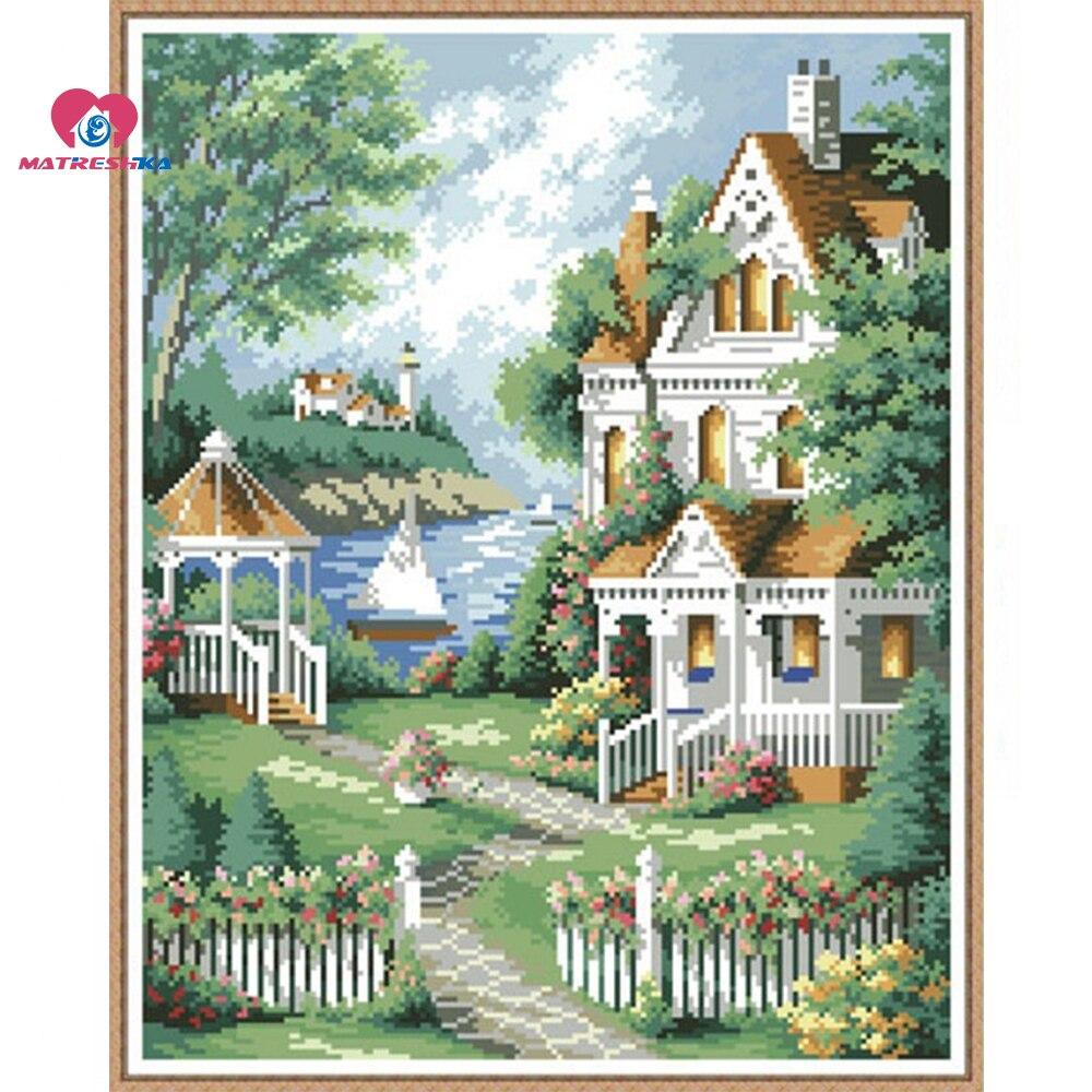 160 x 202 Lattice beads embroidery fields and gardens full beadwork home decor crafts needlework craft