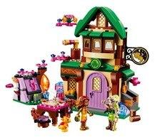 BELA Elves The Starlight Inn Building Blocks Kits For Girl Kids Children Model Toys Minifigures Marvel Bricks Compatible Legoe