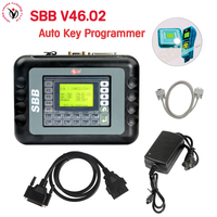 DHL Newest Slica SBB V46.02 SBB Auto Key Programmer Programming OBD2 Key Maker Better Than SBB V33 V33.2 V33.02 Add More Cars