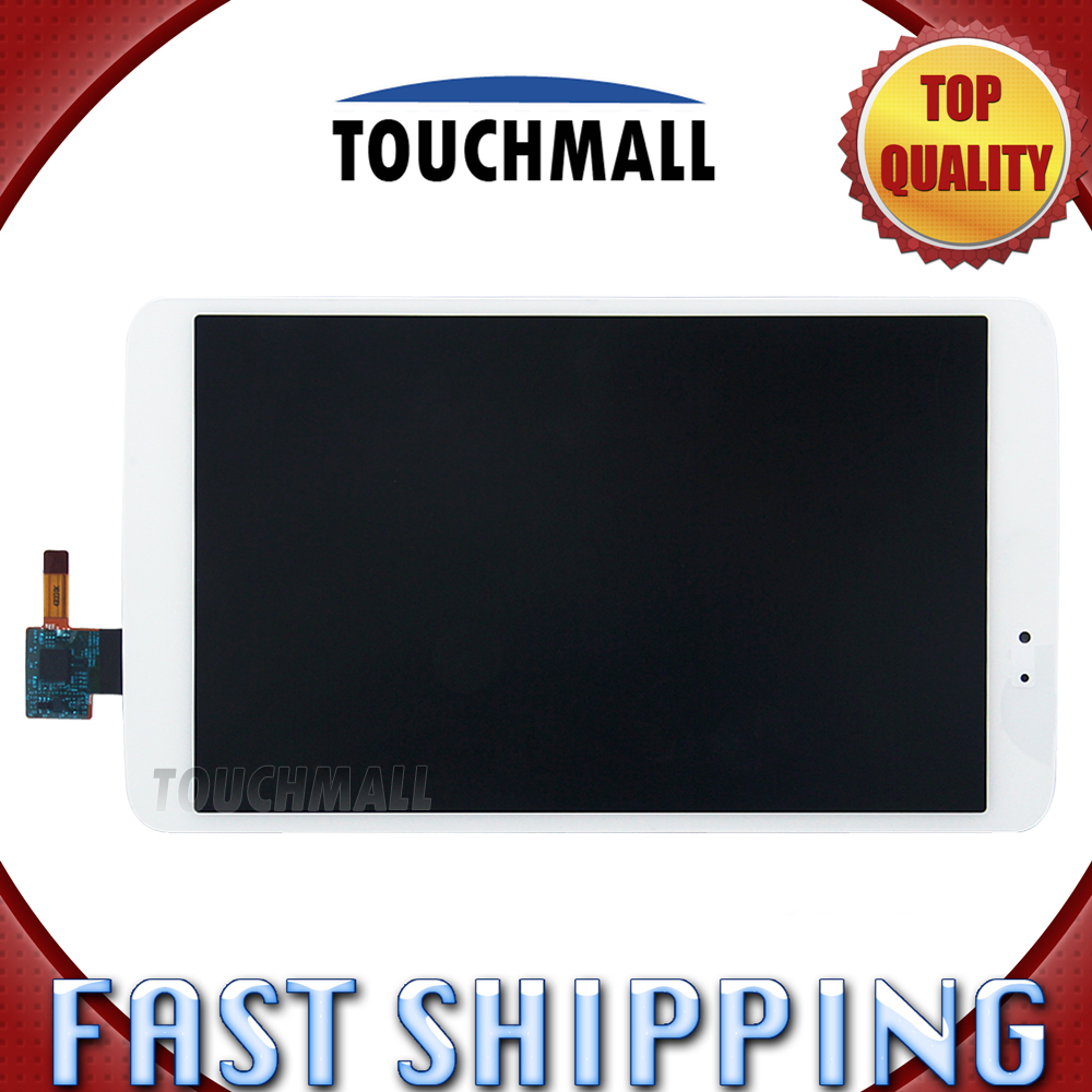 For New LCD Display Touch Screen Digitizer Glass Assembly Replacement LG G Pad 8.3 V500 8.3-inch Black White Free Shipping