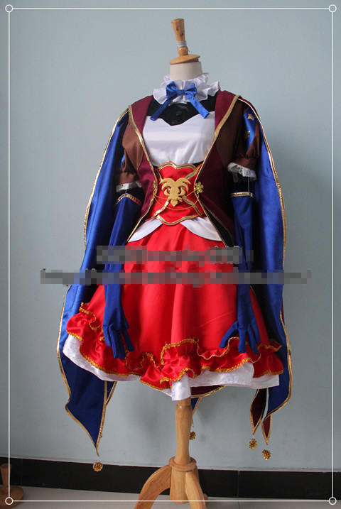 Anime Fate Grand Order Lily Fgo Leonardo Da Vinci Dress Gorgeous Cloak Uniform Cosplay Costume Custom Made Free Shipping Aliexpress