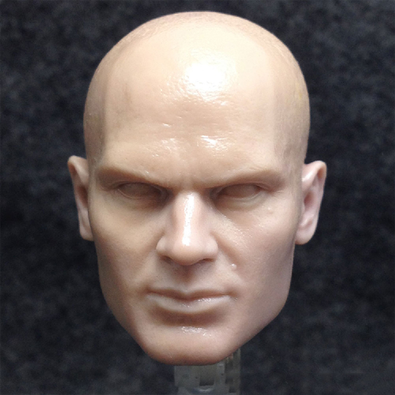 1/6 Hitman Codename 47 Unpainted Head Sculpt image