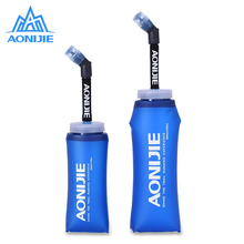 2 Pcs 350ml 600ml Folding Collapsible Soft Flask Water Bottle BPA Free For Runninng Jogging Hydration Bladder Pack Vest