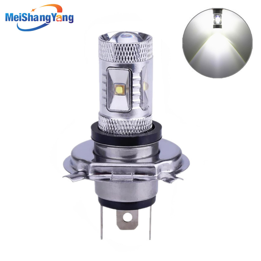 H4 30W XBD LED cars Fog Head lights Bulb auto Lamp 12V 24V Signal Tail parking car light source led car bulbs in Car Headlight Bulbs LED from Automobiles Motorcycles