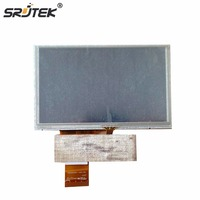 Srjtek 5 Inch HD LCD With Touch Scree For GPS MP4 MP5 Display Screen 40pin LCD