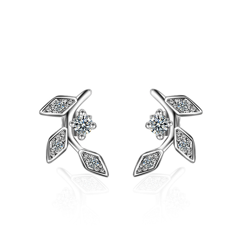 Female Trendy Earrings Solid 925 Sterling Silver Jewelry OL Korea Fashion Stud Earrings for Children Girl's Friendship Gift стоимость