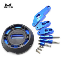 Motorcycle Engine Stator Cover Engine Guard Protection Side Shield Protector For Yamaha YZF R3 YZFR3 YZFR25