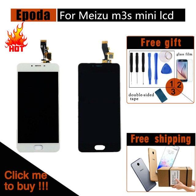 Качество AAA ЖК-дисплей для Meizu M3s ЖК-дисплей Дисплей с новым Рамки Экран Замена для meilan 3 S digiziter Aseembly