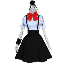 Brdwn Dagashi Kashi Womens Shidare Hotaru Cosplay Costume Asian Size School uniforms (Shirt+Skirt+Hairwear+Wrister+Bow tie)