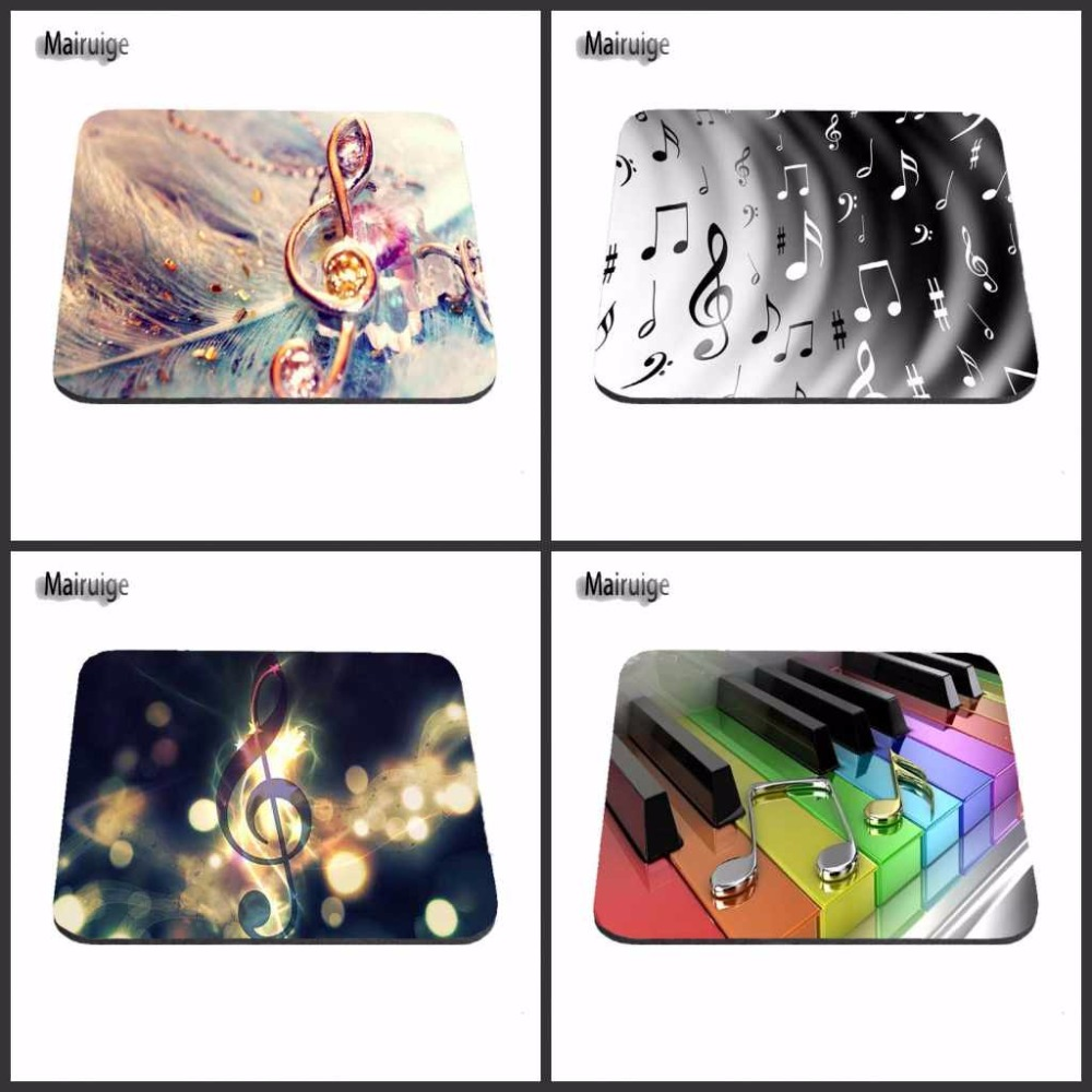 Mairuige New Arrival Luxury Print Love Music Symbol Game Design Gaming PC Anti-slip Piano Mouse Mat for Optical/Trackball Mouse
