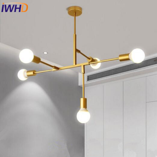 IWHD Nordic Simple Pendant Lamp For Home Lighting Modern Creative LED Pendant Light Droplight Loft Hanglamp Fixtures Luminaire iwhd aluminum led pendant light modern bedroom living room hanglamp home lighting fixtures nordic style suspension luminaire