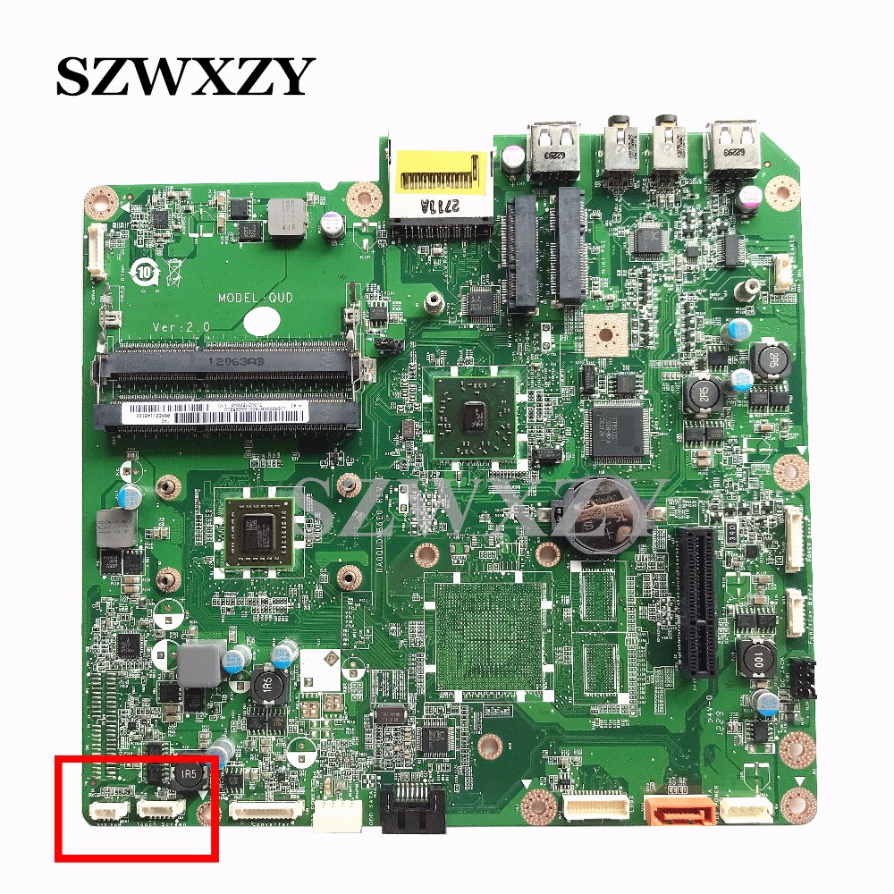 High Quality For Lenovo C325 C225 AIO Motherboard 90000079 DA0QUDMB6E0 W E450 Processor