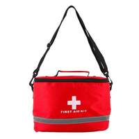 First Aid Kit Large Shoulder Strap Portable Car Emergency Medical Bag Home Travel Outdoor Survival Kits Camping Storage Bag