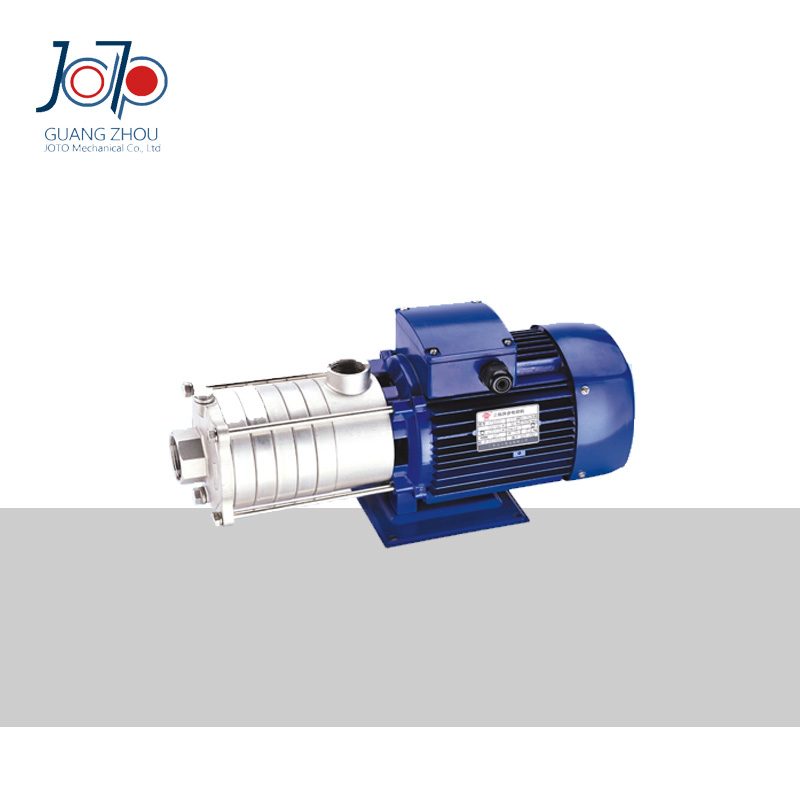 DW S 1 50 037D 220V Single Phase 50Hz Multistage Horizontal Stainless Steel Centrifugal Pump For