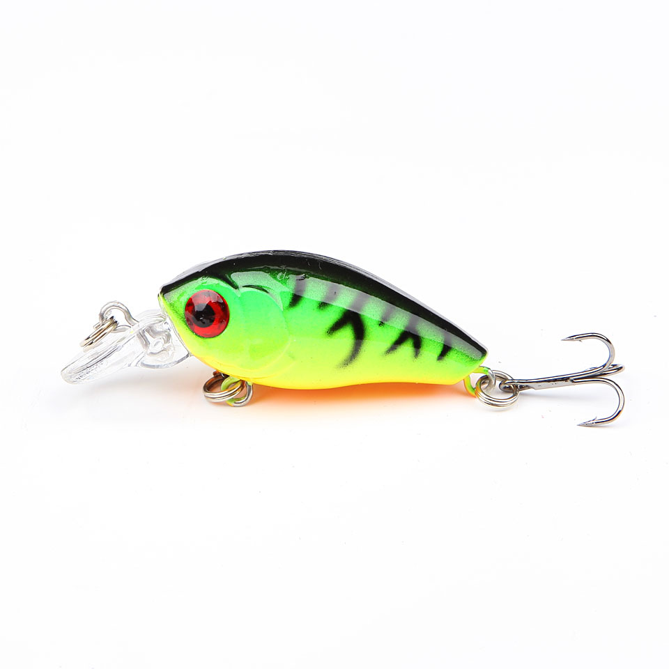 "4.2/""Soft Fishing Lure Double treble Hook HENGJIA Life like Pike Lure Swimbait"