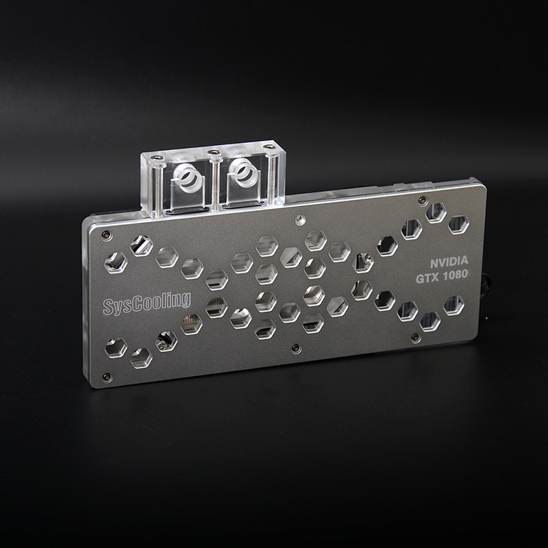 Syscooling 1080/1070 computer GPU water cooling block water cooling system Desktop liquid cooling image