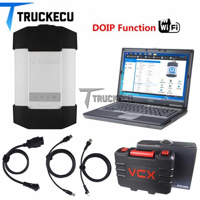 Vxdiag C6/star c6 (poderoso do que MB SD c4 & c5) + T420 laptop para Benz carros & caminhões ferramenta de diagnóstico scanner VXDIAG C6 DOIP & AUDIO