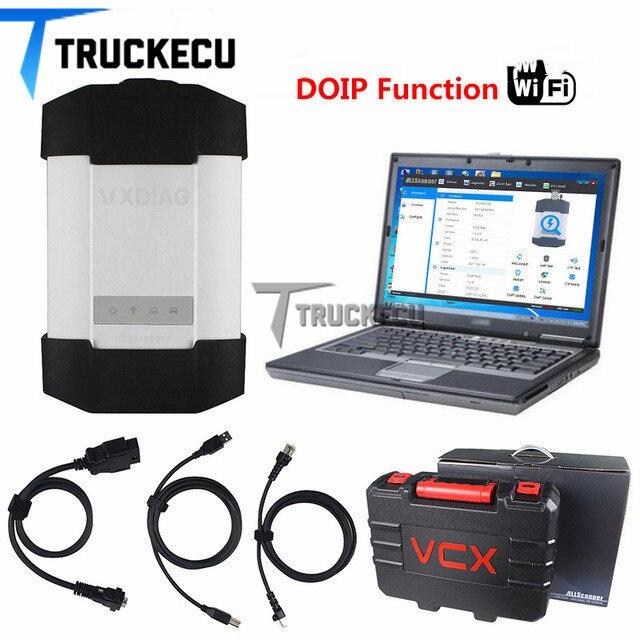 Vxdiag C6/star c6 (puissant que MB SD c4 & c5) + T420 ordinateur portable pour Benz voitures & camions outil de scanner de diagnostic VXDIAG C6 DOIP & AUDIO