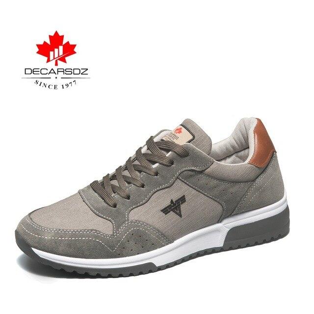 Tênis de corrida Dos Homens, DECARSDZ Qualidade sapatos casuais, design em Paris, Sapatilhas Confortáveis, apropriado para esportes ao ar livre andar