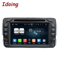 Idoing 2Din Steering Wheel For Mercedes Benz W209 203 Car DVD Player Android6 0 8Core FM
